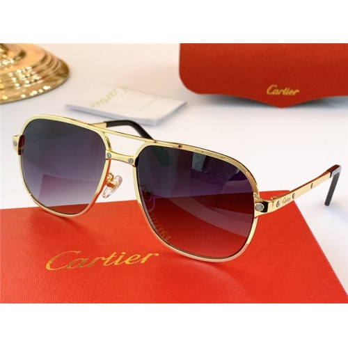 Cartier AAA Quality Sunglasses #826878