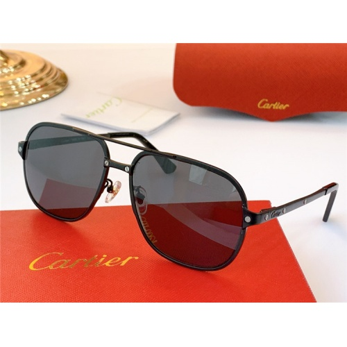 Cartier AAA Quality Sunglasses #826879