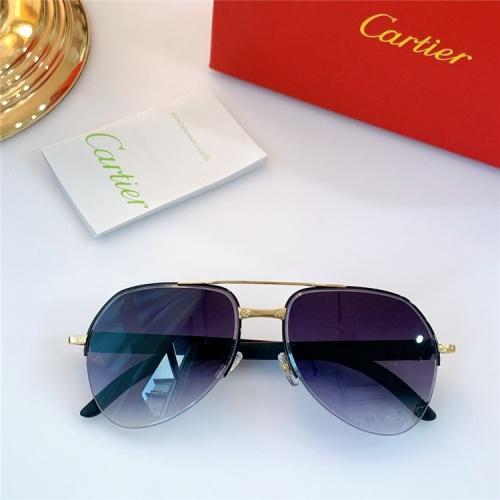 Cartier AAA Quality Sunglasses #826886
