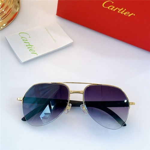Cartier AAA Quality Sunglasses #826887