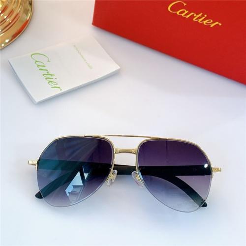 Cartier AAA Quality Sunglasses #826887