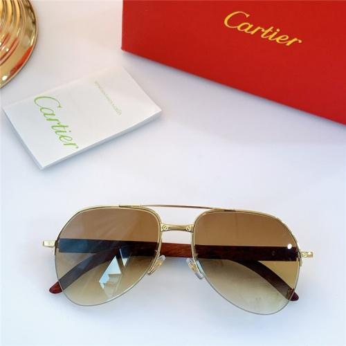 Cartier AAA Quality Sunglasses #826891