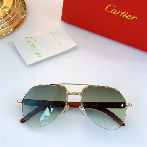 Cartier AAA Quality Sunglasses #826892