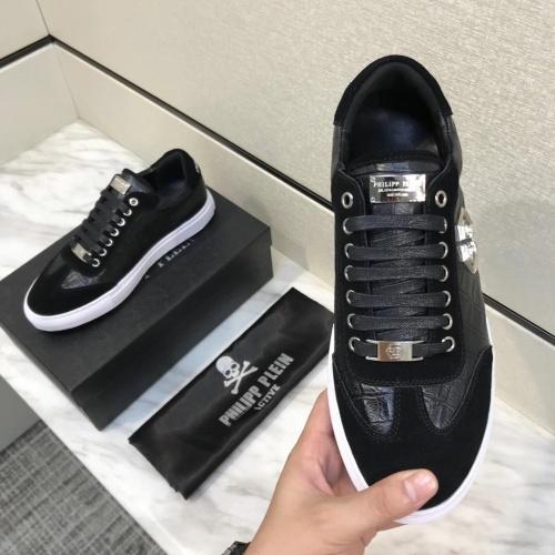 Replica Philipp Plein PP Casual Shoes For Men #826964 $80.00 USD for Wholesale