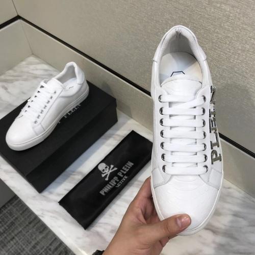 Replica Philipp Plein PP Casual Shoes For Men #826966 $80.00 USD for Wholesale