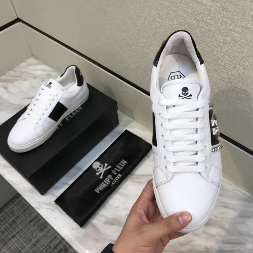 Replica Philipp Plein PP Casual Shoes For Men #826968 $80.00 USD for Wholesale