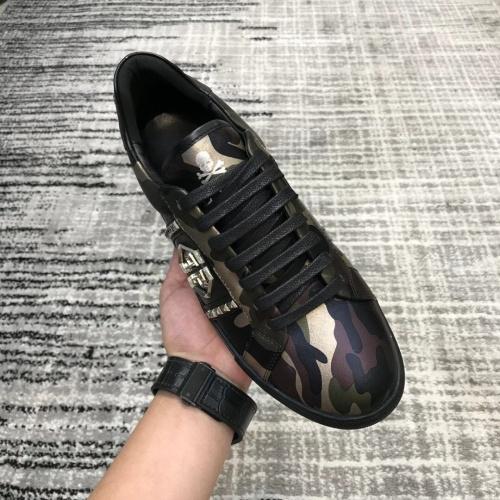 Replica Philipp Plein PP Casual Shoes For Men #826969 $80.00 USD for Wholesale