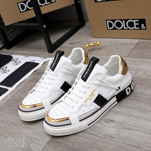 Dolce & Gabbana D&G Casual Shoes For Men #827026