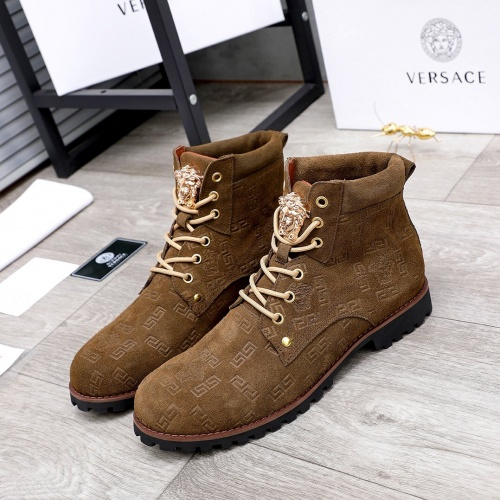Versace Boots For Men #827044