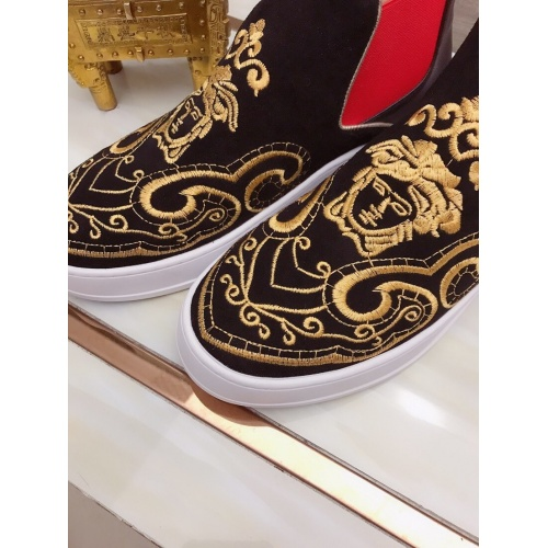 Replica Versace High Tops Shoes For Men #827067 $85.00 USD for Wholesale
