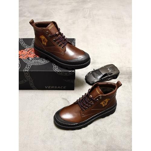 Versace Boots For Men #827076