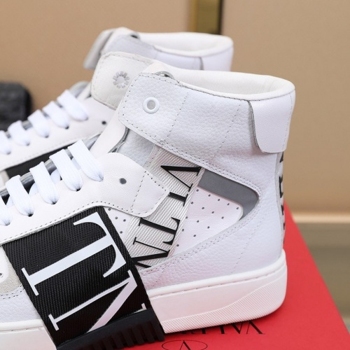 Replica Valentino High Tops Shoes For Men #827099 $98.00 USD for Wholesale