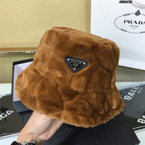 Replica Prada Caps #827223 $32.00 USD for Wholesale