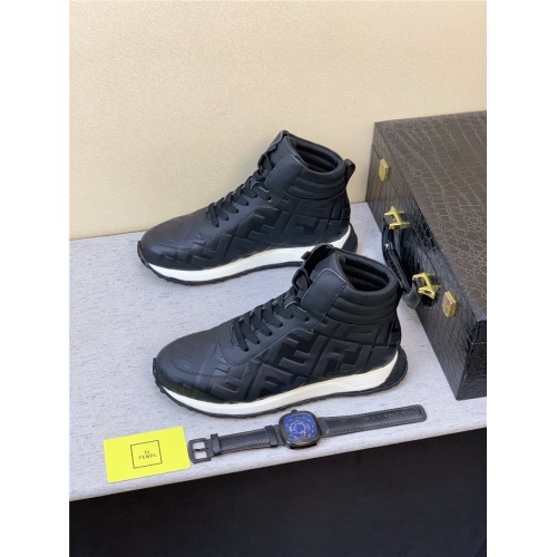 Fendi High Tops Casual Shoes For Men #827371
