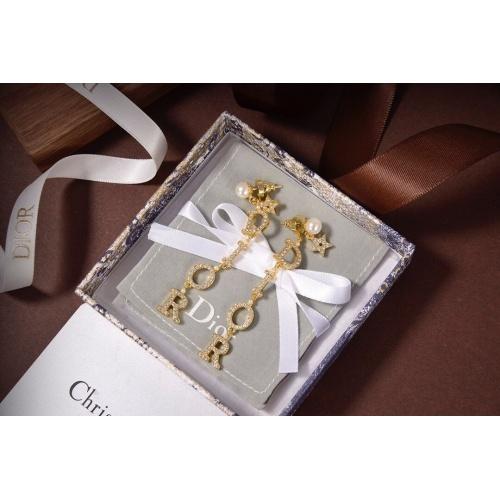 Christian Dior Earrings #827477 $36.00 USD, Wholesale Replica Christian Dior Earrings