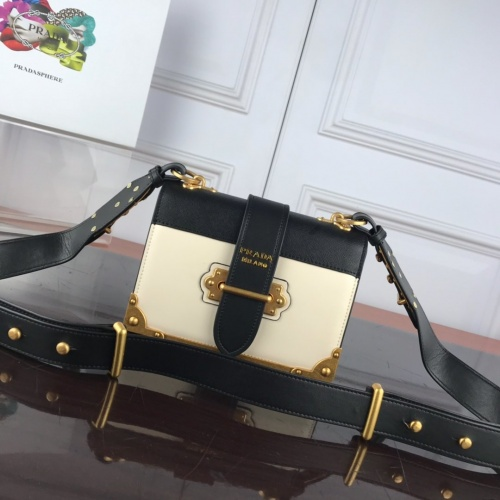 Prada AAA Quality Messeger Bags For Women #827549 $100.00, Wholesale Replica Prada AAA Quality Messeger Bags