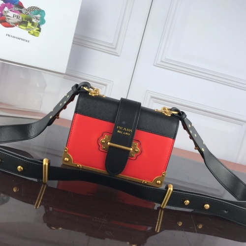 Prada AAA Quality Messeger Bags For Women #827551 $100.00, Wholesale Replica Prada AAA Quality Messeger Bags
