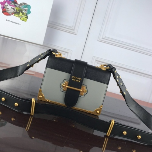 Prada AAA Quality Messeger Bags For Women #827552 $100.00, Wholesale Replica Prada AAA Quality Messeger Bags