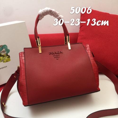 Prada AAA Quality Handbags For Women #827637