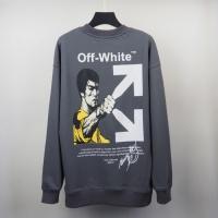 $39.00 USD Off-White Hoodies Long Sleeved O-Neck For Men #819734