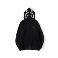 $48.00 USD Bape Hoodies Long Sleeved Zipper For Men #819857