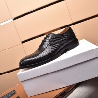 $105.00 USD Versace Leather Shoes For Men #820043
