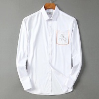 $42.00 USD Hermes Shirts Long Sleeved Polo For Men #822469
