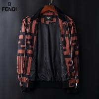 $72.00 USD Fendi Jackets Long Sleeved Zipper For Men #822574