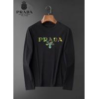 $34.00 USD Prada T-Shirts Long Sleeved O-Neck For Men #826356
