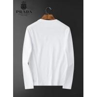 $34.00 USD Prada T-Shirts Long Sleeved O-Neck For Men #826357