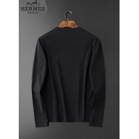 $34.00 USD Hermes T-Shirts Long Sleeved O-Neck For Men #826377