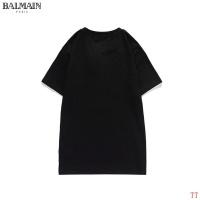 $27.00 USD Balmain T-Shirts Short Sleeved O-Neck For Men #826562