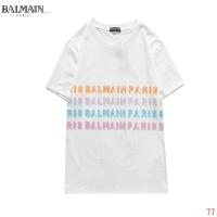 $27.00 USD Balmain T-Shirts Short Sleeved O-Neck For Men #826563