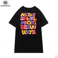 $27.00 USD Balenciaga T-Shirts Short Sleeved O-Neck For Men #826619