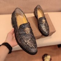 $80.00 USD Versace Leather Shoes For Men #826955