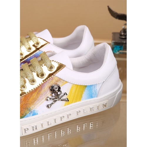 Replica Philipp Plein PP Casual Shoes For Men #827778 $76.00 USD for Wholesale