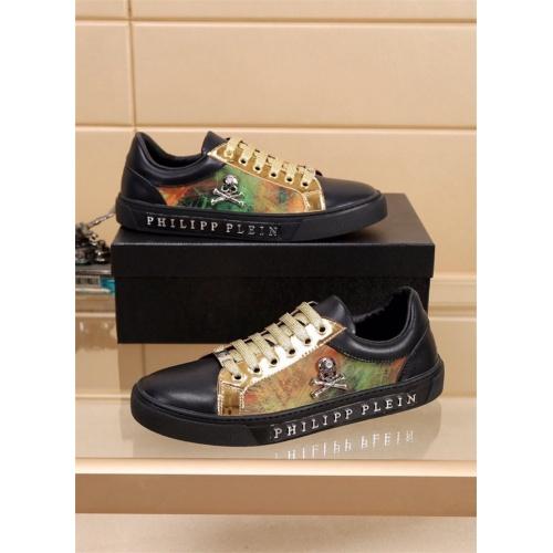 Philipp Plein PP Casual Shoes For Men #827779 $76.00, Wholesale Replica Philipp Plein Shoes