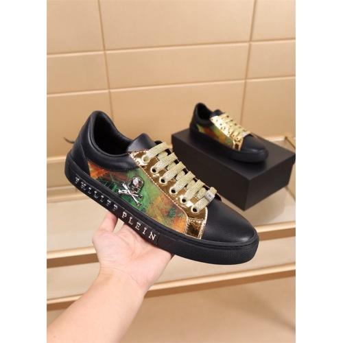 Replica Philipp Plein PP Casual Shoes For Men #827779 $76.00 USD for Wholesale