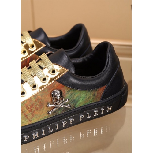 Replica Philipp Plein PP Casual Shoes For Men #827779 $76.00 USD for Wholesale