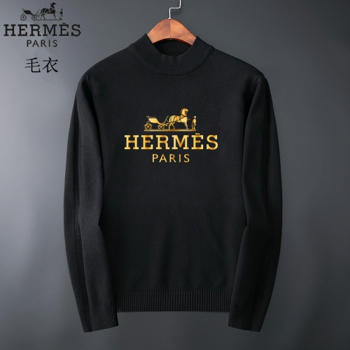 Hermes Sweaters Long Sleeved O-Neck For Men #827880