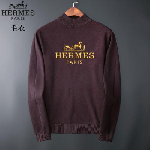 Hermes Sweaters Long Sleeved O-Neck For Men #827881