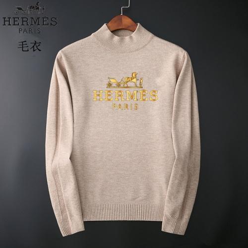 Hermes Sweaters Long Sleeved O-Neck For Men #827883
