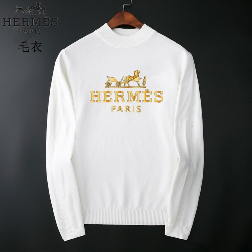Hermes Sweaters Long Sleeved O-Neck For Men #827884