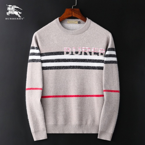 Burberry Sweaters Long Sleeved O-Neck For Men #827886