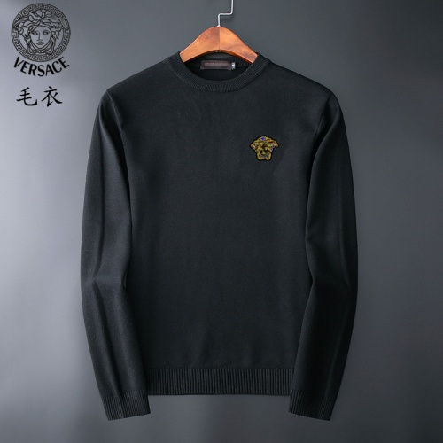 Versace Sweaters Long Sleeved O-Neck For Men #827900