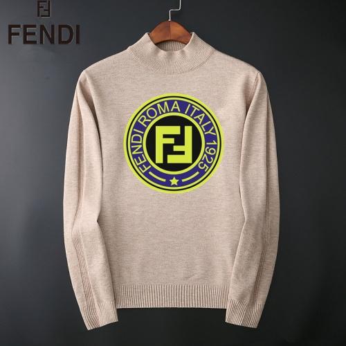 Fendi Sweaters Long Sleeved O-Neck For Men #827906