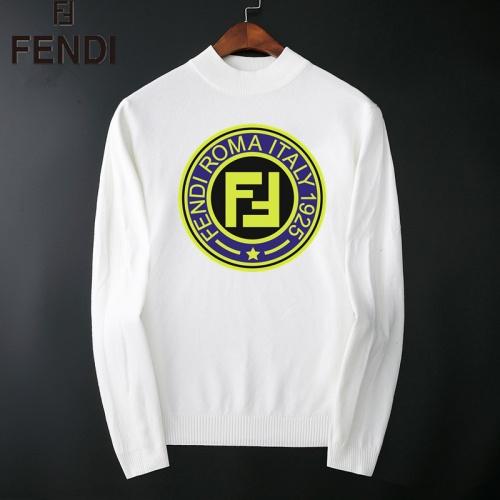 Fendi Sweaters Long Sleeved O-Neck For Men #827907