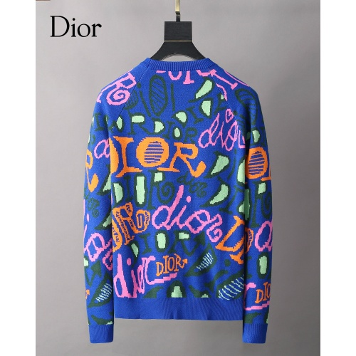 Replica Christian Dior Sweaters Long Sleeved O-Neck For Men #827913 $42.00 USD for Wholesale