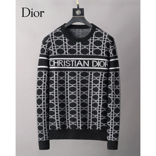 Christian Dior Sweaters Long Sleeved O-Neck For Men #827914