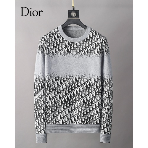 Christian Dior Sweaters Long Sleeved O-Neck For Men #827915